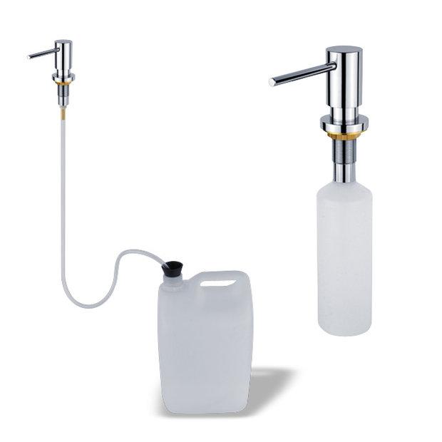 Dávkovač tekutého mýdla - Vestavěný dávkovač tekutého mýdla