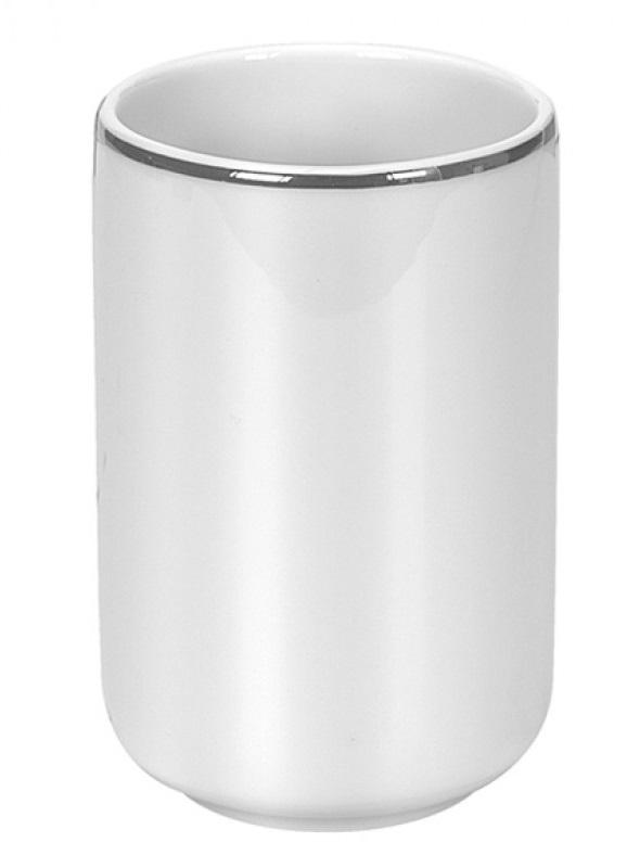 NOBLESSE kelímek na postavení, porcelán bílý (5075127852)