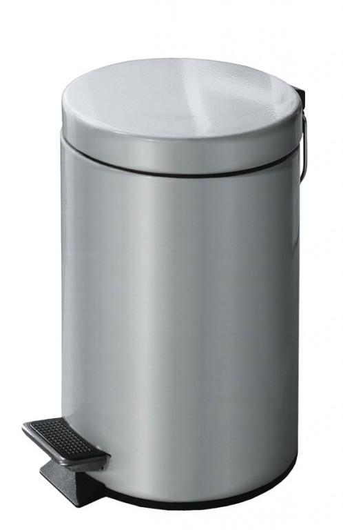 JUMP koupelnový koš 3l, stříbrný (5062117858)